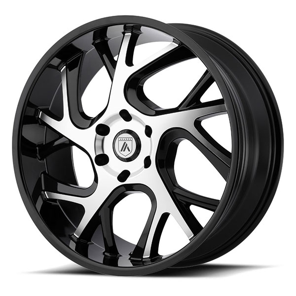 Asanti ABL-16 Gloss Black with Machined Face