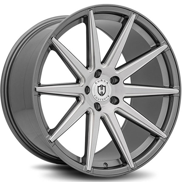 Curva Concepts C49 Gun Metal with Brushed Face