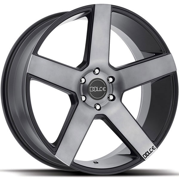 Dolce DC38 Matte Black with Machined Face