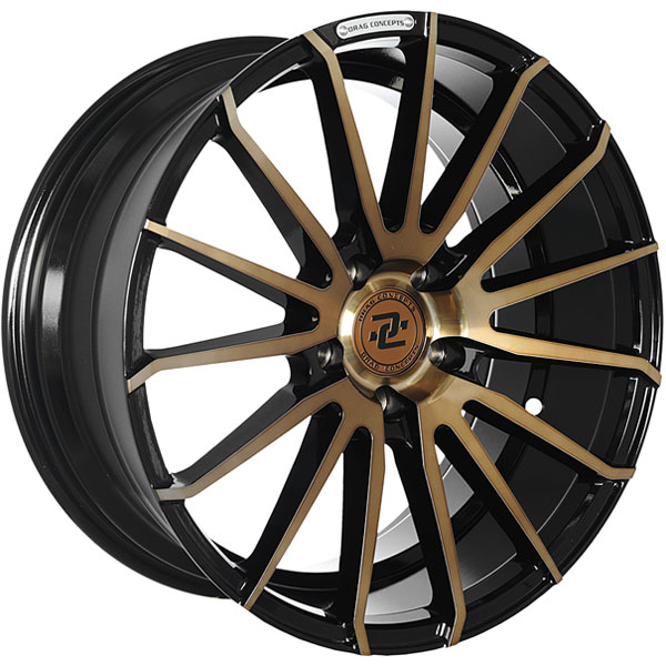 Drag Concepts R32 Gloss Black with Bronze Face