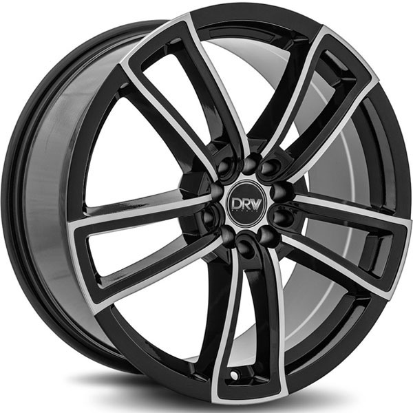 DRW D12 Black with Machined Face