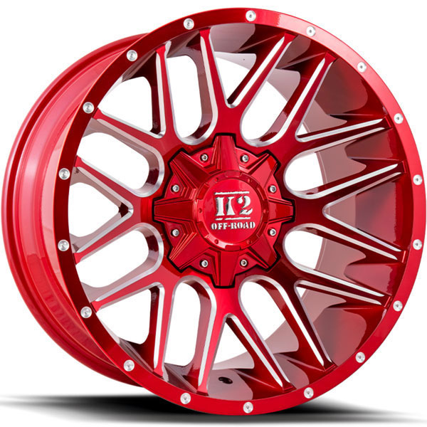 K2 OffRoad K18 Venom Candy Red with Milled Windows