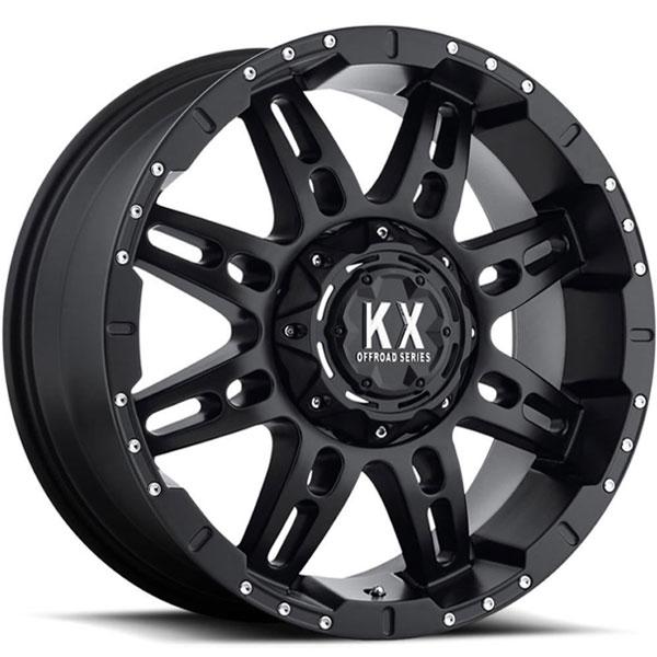 KX Offroad CP34 Matte Black