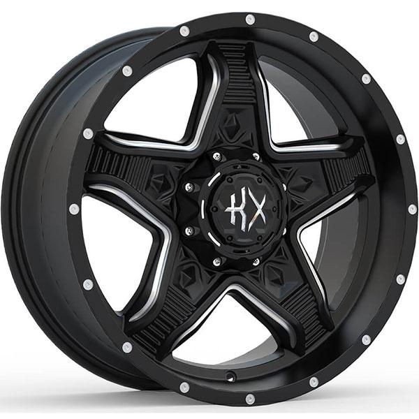 KX Offroad KX14 Matte Black with Milled Spokes