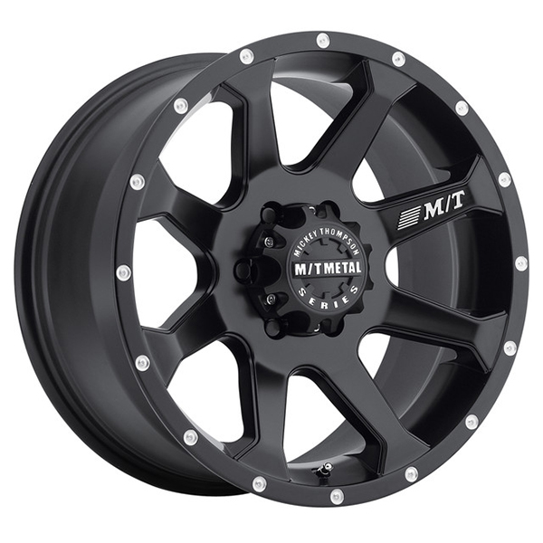 Mickey Thompson Metal Series MM-366 Matte Black