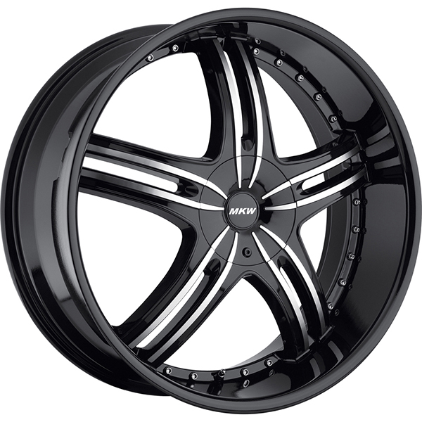 MKW M105 Black with Machined Face