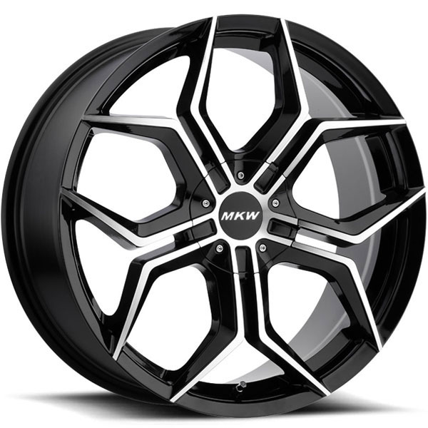 MKW M121 Black Machined