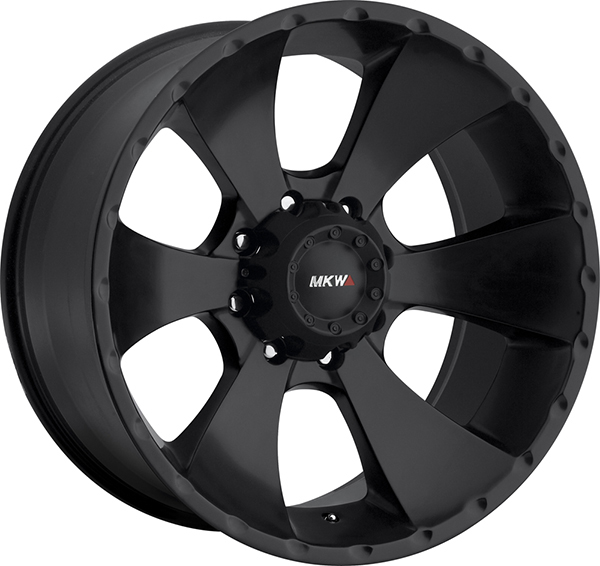 MKW M19 Satin Black 8 Lug