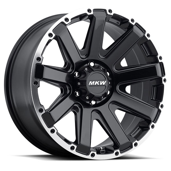 MKW M94 Satin Black with Machined Ring