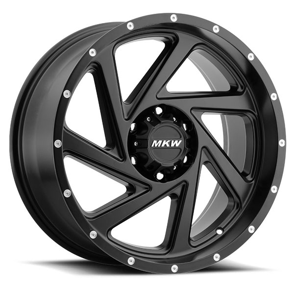 MKW M98 Satin Black 6 Lug