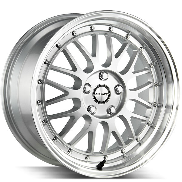 Shift Flywheel Silver with Polished Lip