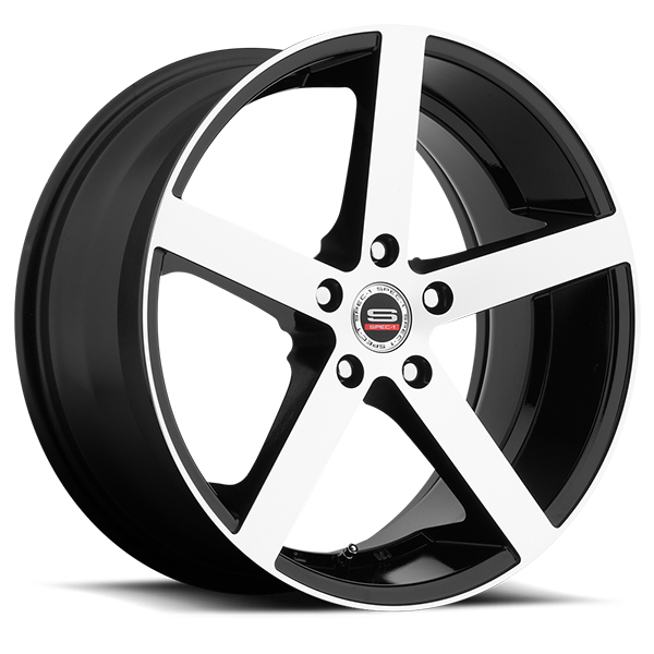 Spec-1 SP-10 Gloss Black with Machined Face