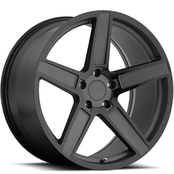 TSW Ascent Matte Gunmetal with Gloss Black Face