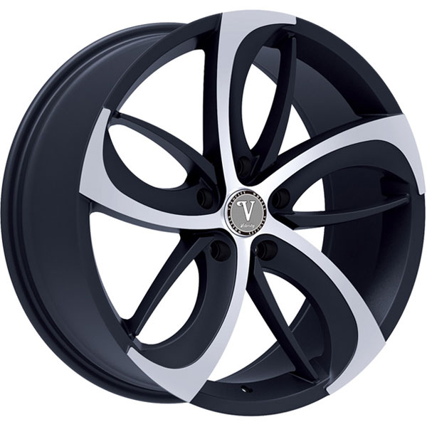 Velocity VW 26A Black with Machined Face